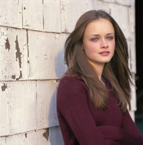 alexis bledel – red top and bricks