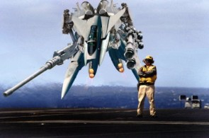 Aircraft Carrier Mech Take Off
