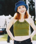 Alyson Hannigan – Blue Hat