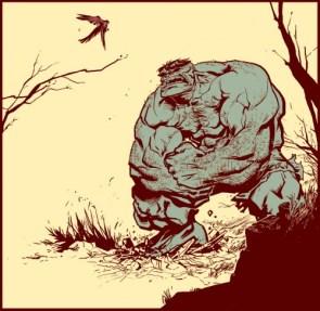 Incredible Hulk Vs Sparrow