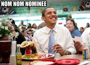 barack obama – nom nom nominee