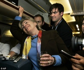 Hillary Clinton – Drunk