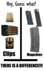 Clips Vs magazines