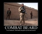 Combat Beard – I'm so hardcore, I hate kevlar and grew my own face armour