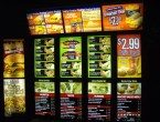 Deltaco Menu Board