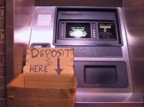 Deposit Money Here