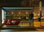 doggy bus stop