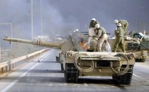 Flaming Tank