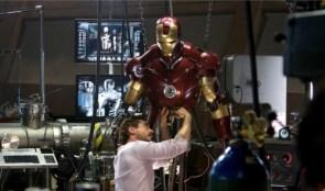 Tony Stark Working On Iron Man