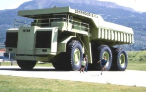 A Large Dump Truck