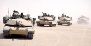 Line Up of Tanks
