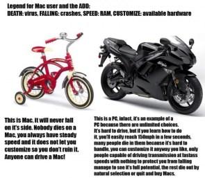 Mac Vs Pc – Motorcycles