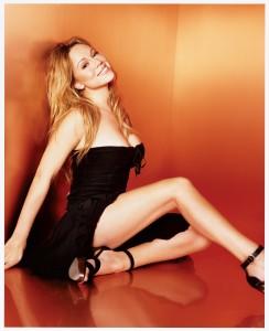 Mariah Carey – Black Mini Dress