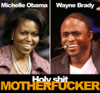 Michelle Obama Vs Wayne Brady
