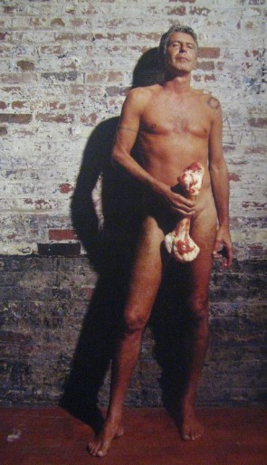 nearly nude bourdain
