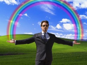 Tony Stark Loves Rainbows