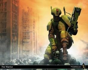 Warhammer 40k – Tau Firewarrior