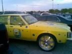 yellow ghetto car – sponge bob