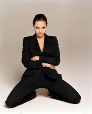 Angelina Jolie – Spread Eagle