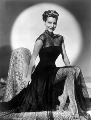 Ava Gardner – Black Sheer Dress