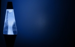 Blue Lava Lamp