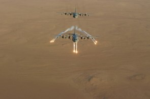 C130 flare deployment