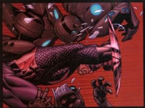 Captain America – Flying Through bad guys