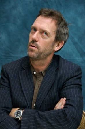 hugh laurie – pin stripe jacket
