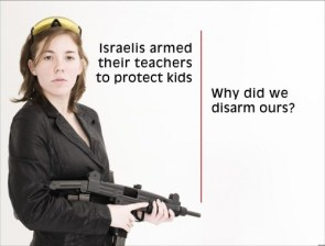 israelis armed their teacher to protect kids – why did we disarm ours