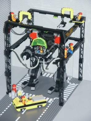 lego repair bay