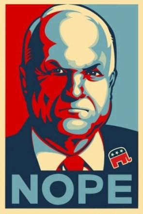McCain – Nope