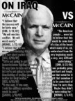 McCain Vs McCain – Iraq