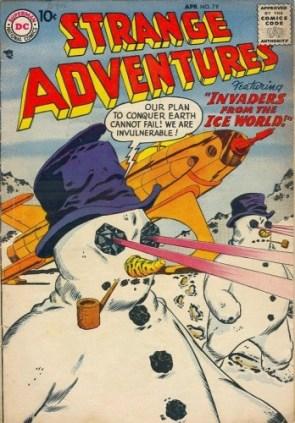 strange adventures 79 cover