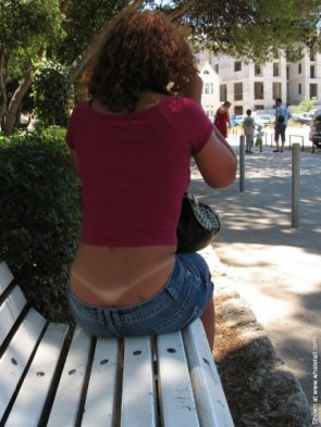 tanline whale tail