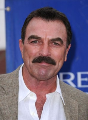 Tom Selleck – Manly mustache