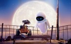 Wall-E and Eve Under the moon