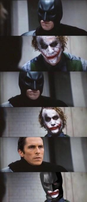 The batman and joker interview