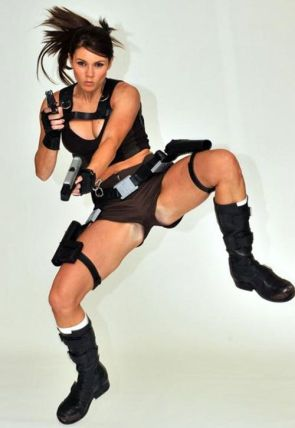 alison carroll IS lara croft