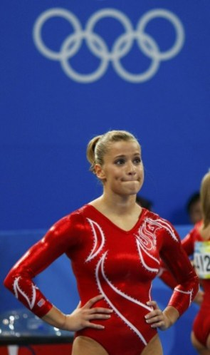 Alicia Sacramone – Looking Upset