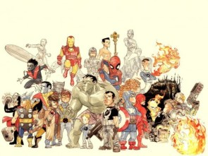 Awesome Marvel Character Drawing
