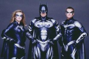 Batman and Robin and Batgirl