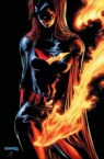 Batwoman in flames