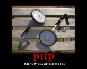 php – training wheels without the bike