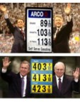 Presidential Gas prices