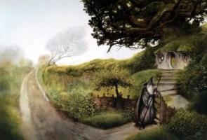 Visiting the hobbits