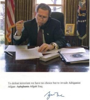 Bush Invades a Country