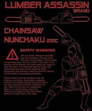 chainsaw nunchuku