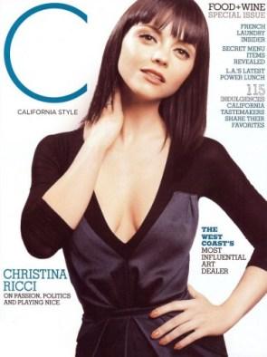 Christina Ricci- California Style Cover