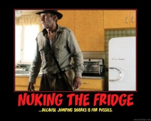 nuking the fridge – because jumping sharks is for pussies