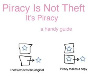 Piracy is not theft – it is piracy